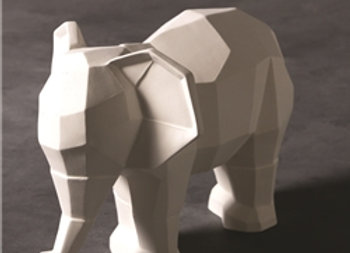 Faceted Elephant
