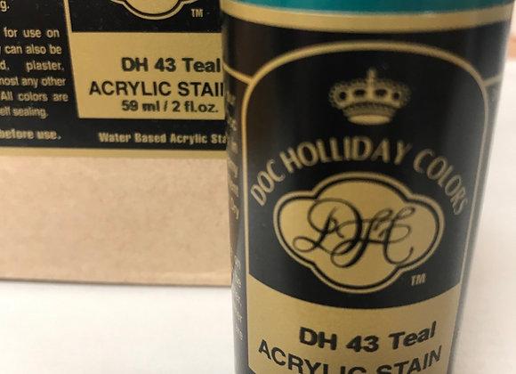 Teal- DH43- Acrylic