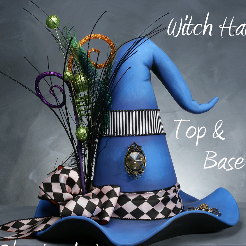 (SOLD OUT) Witch Hat (Candy/Dip Dish) Workshop