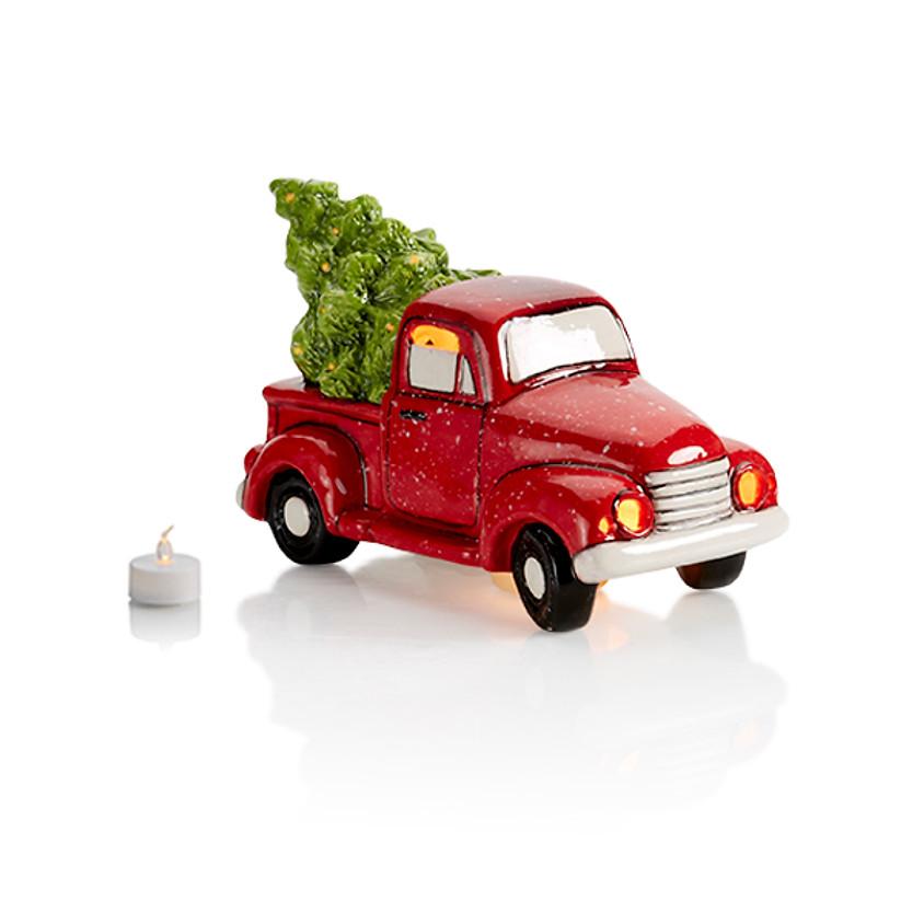 Little Red Truck Votive