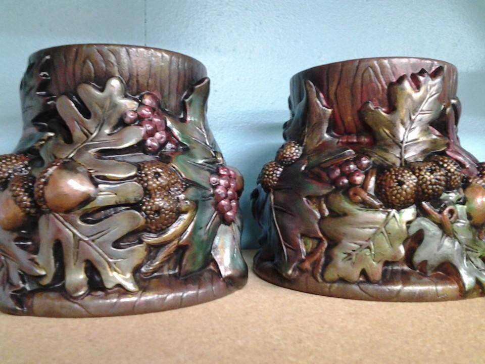 Candle holders by Tracy