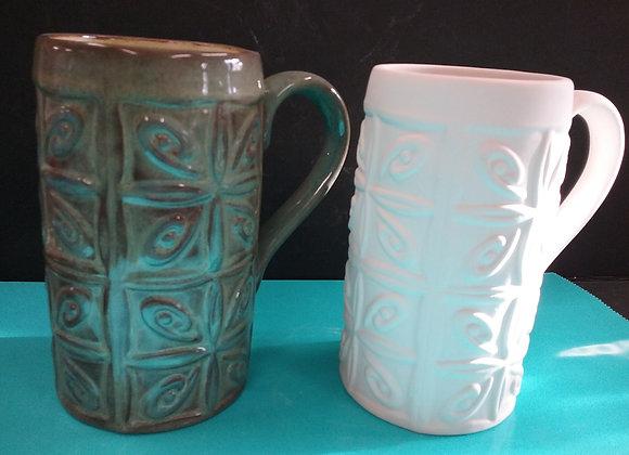 Textured Ceiling Mug