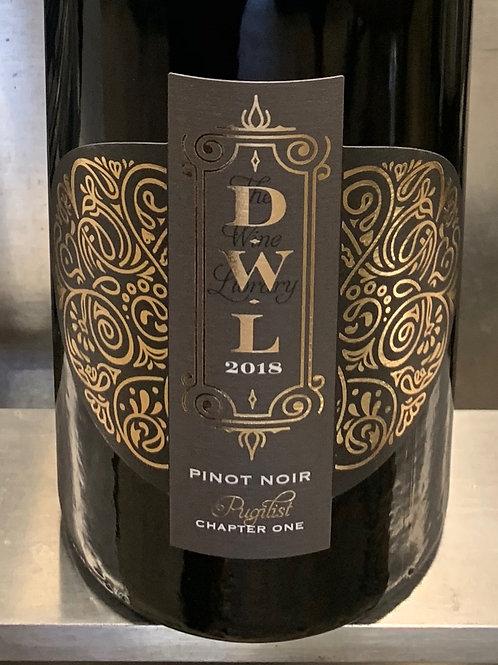 2018 Pugilist Pinot Noir