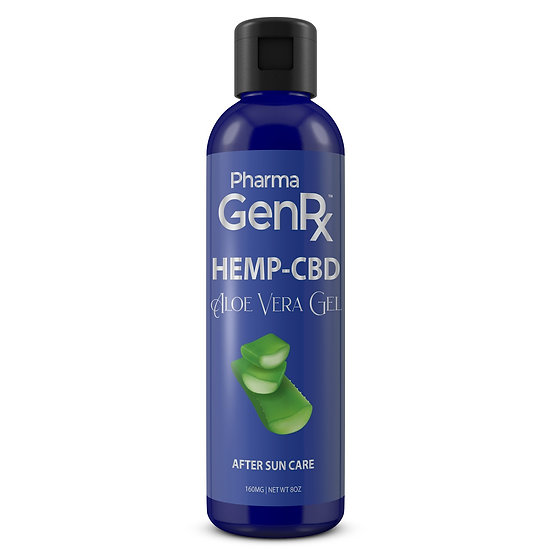 Pharma GenRx Hemp-CBD Aloe Vera Gel