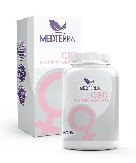 MedTerra Monthly Wellness CBD Gel Capsules