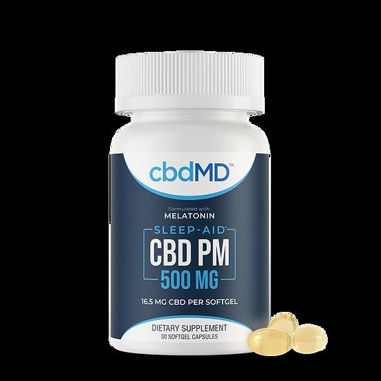 cbdMD Sleep-Aid w/ Melatonin 500mg SoftGels