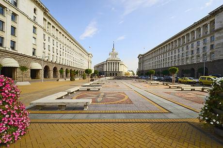 Sofia Bulgaria square Ploshtat Nezavisim