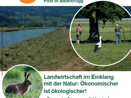 Landwirtschaft im Einklang mit der Natur - Mitgliederversammlung Schwyzer Umweltrat