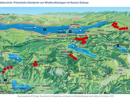 Industrielle Windkraftanlagen im Kanton Schwyz?