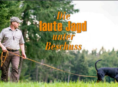 Die laute Jagd unter Beschuss - Interview mit Manuel Wyss in JAGD&NATUR
