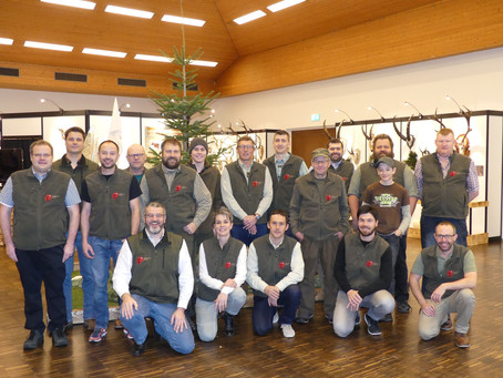 Erfolgreiche Trophäenschau 2019 in Einsiedeln