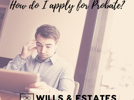 How do I apply for Probate?