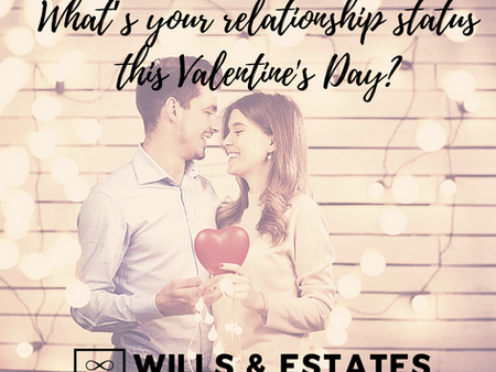 What's your relationship status this Valentine's Day... And what's your Will up to?