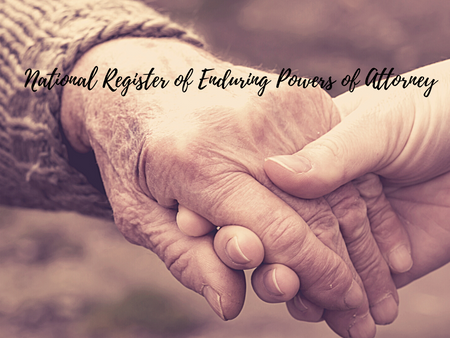 National Register of Enduring Powers of Attorney