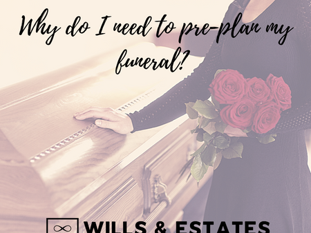 Why do I need to pre-plan my funeral?