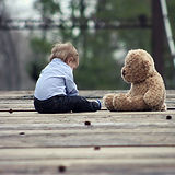 Baby with Teddy Bear