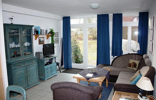 Sitzecke mit Zugang zur Terrasse