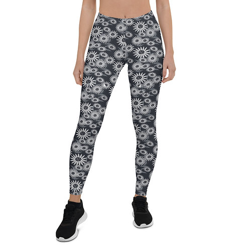 Echinacea Dark Leggings