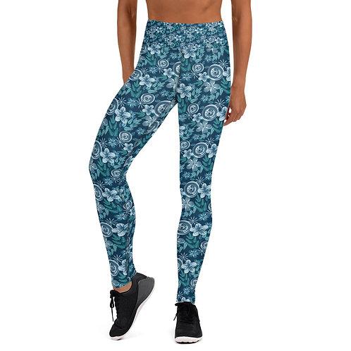 Blue June Yoga Leggings