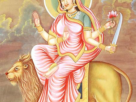 Катьяяни - Юпитер (6-ой день Наваратри)