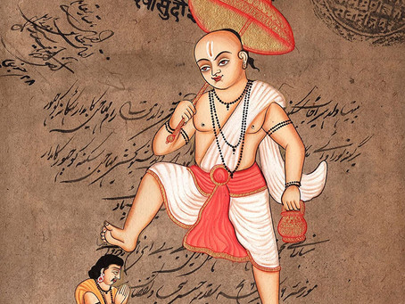 Вамана аватар = Юпитер: гуру-дикша
