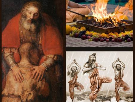 Демонические, человеческие и божественные накшатры