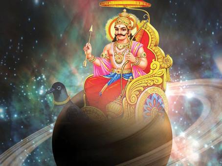 Почитание Шани (бога планеты Сатурн) в субботу на 13-ый лунный день