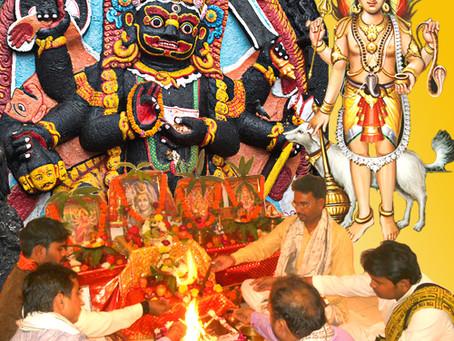 8-ой лунный день - время поклонения Бхайраву
