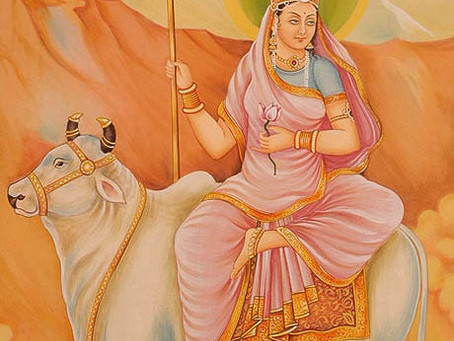 Шаилапутри - ЛУНА (1-ый день Наваратри)