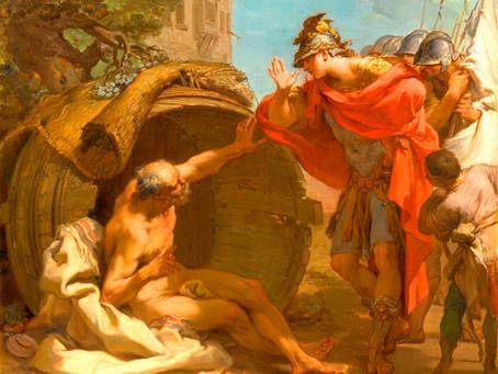 Сатурн+Кету: встреча Александра и Диогена