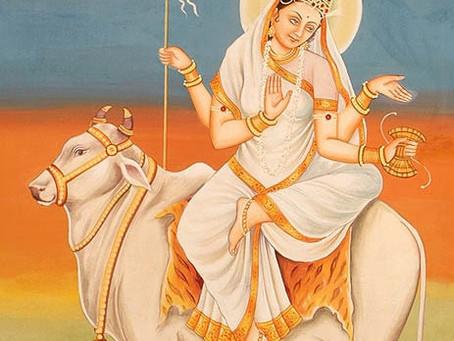 Махагаури - Раху (8-ой день Наваратри)