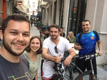 Nedzada und Dominik: Erste Erlebnisse in Istanbul