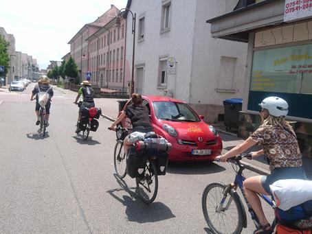 Paul: Warmshowers in Friedrichshafen