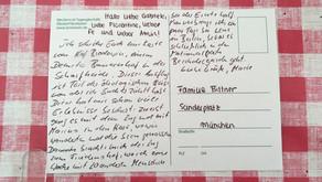 Marie: Eine fremdgeschriebene Postkarte