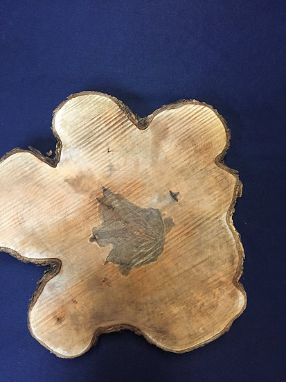 Spalted Red Maple Slice