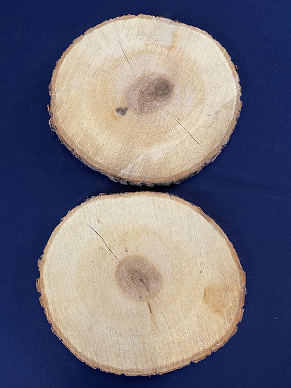 Basswood Rounds Pair BWR1