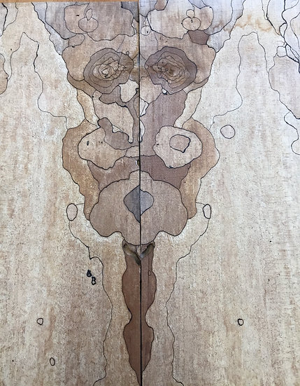 Spalted Maple Lumber BMSM4