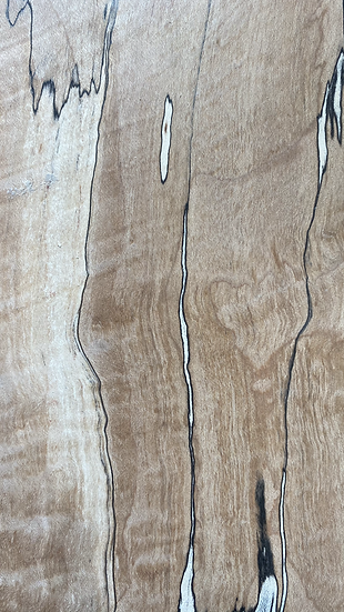 """Spalted Maple 4 x 22 x 1/2"""" Figured"""