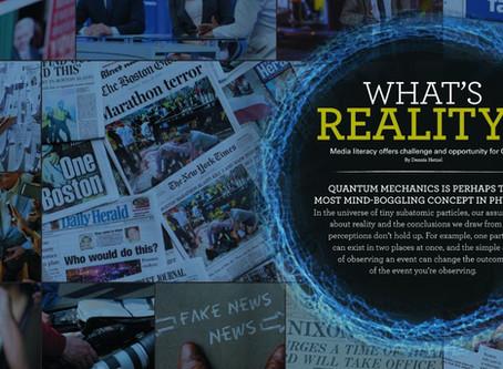 Quantum physics and fake news