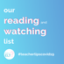 Our recommendations: a reading and watching list