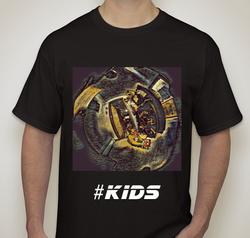 #Kids (dark) T-shirt