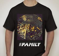 #Family (Dark) T-shirt