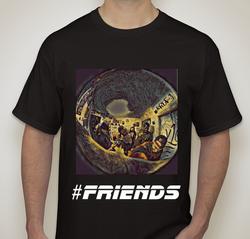 #Friends (Dark) T-shirt