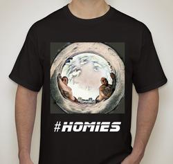 #Homies (Light) T-shirt