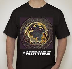 #Homies (Dark) T-shirt