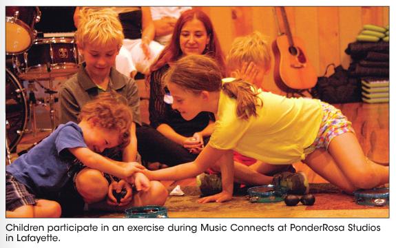 Recording Studio Hosts Music Connects Program for Children