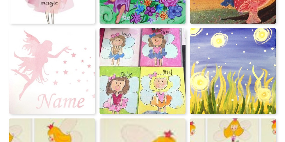 Private Fairy Canvas Painting Birthday Party