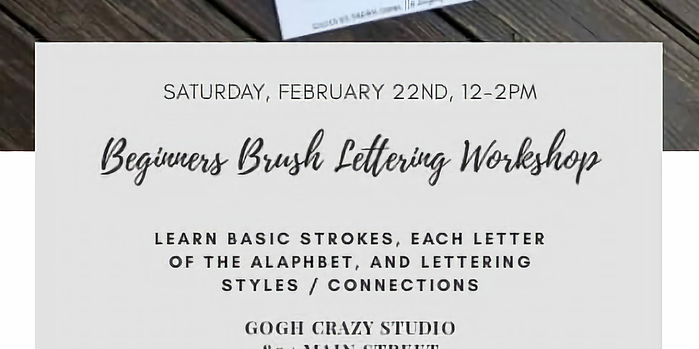 Hand Lettering Class with Darian Combs