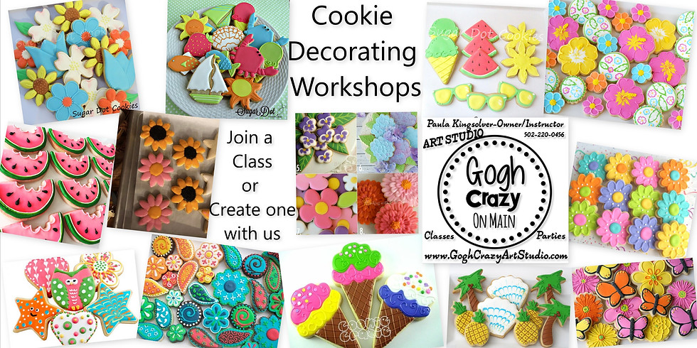 Private Cookie Decorating Class with RR