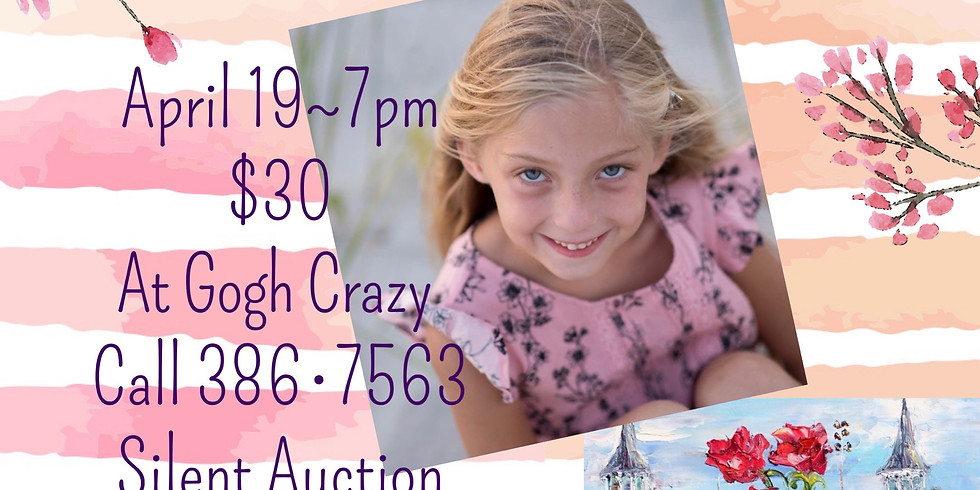Paint for Gracie Derby Canvas and Silent Auction